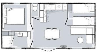 plan Prestige Cottage Cocoon 2 ch