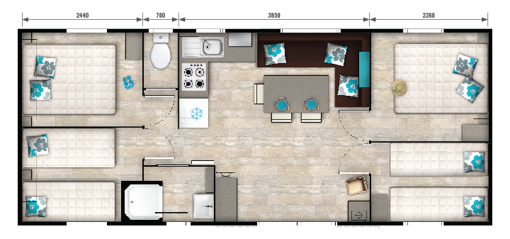 Mobil-home Evasion Plus