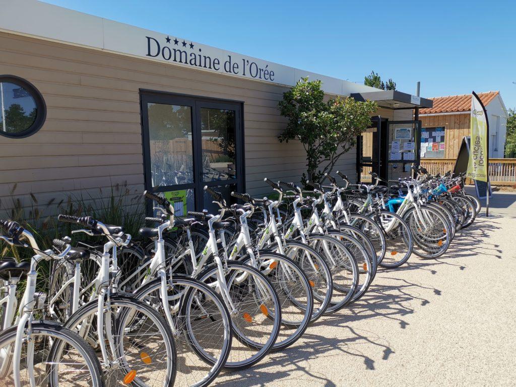 location de vélo Camping Domaine de l'Orée